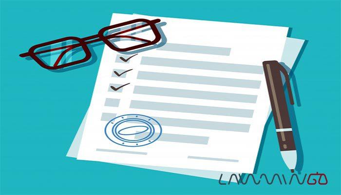 تنظیم قرارداد آنلاین