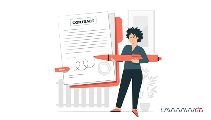 نمونه قرارداد استخدام منشی