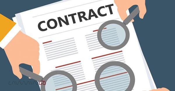تنظیم قرارداد پیمانکاری
