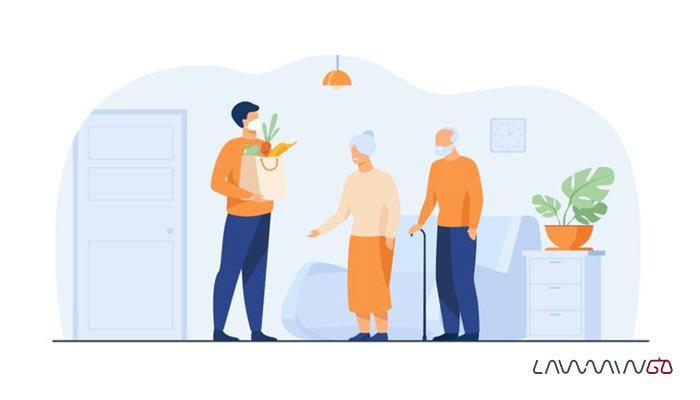 نگهداری افراد مسن